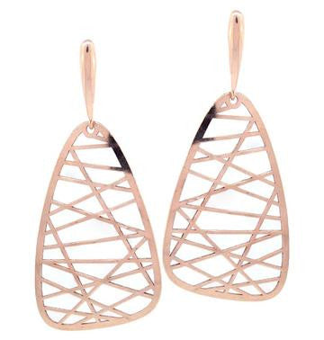 Drop Earrings, Rose Gold