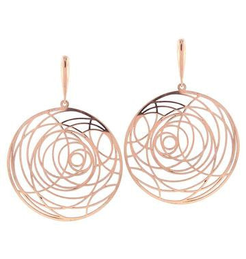 Circular Earrings, PeJay Roza Collection