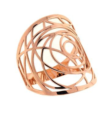 Detailed Ring, Rose Gold