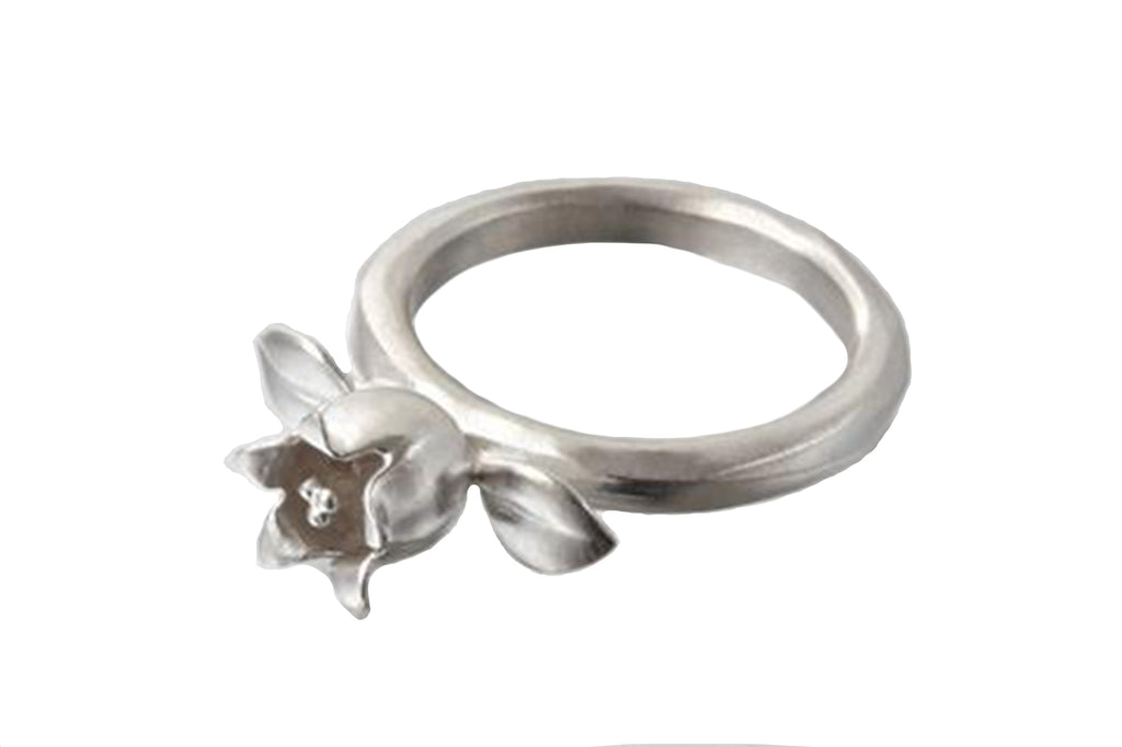Lily of the Valley Ring - Silverscape Designs