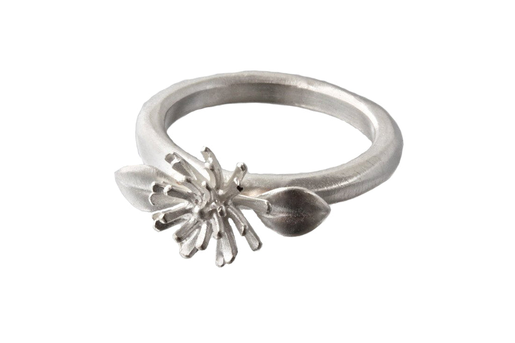 EAM Sterling Silver Mini Mum Ring