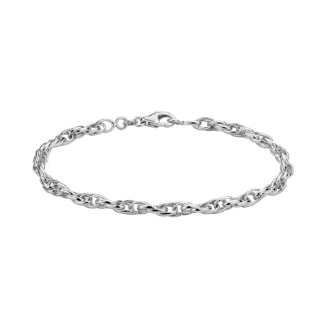 Sterling Silver Triple Twist Bracelet - Silverscape Designs