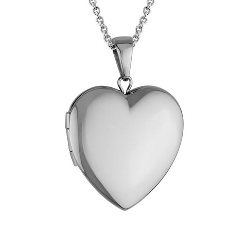 Sterling Silver Heart Shaped Locket - Silverscape Designs