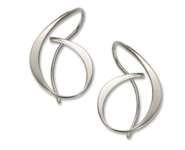 Allegro Sterling Silver Earrings - Silverscape Designs