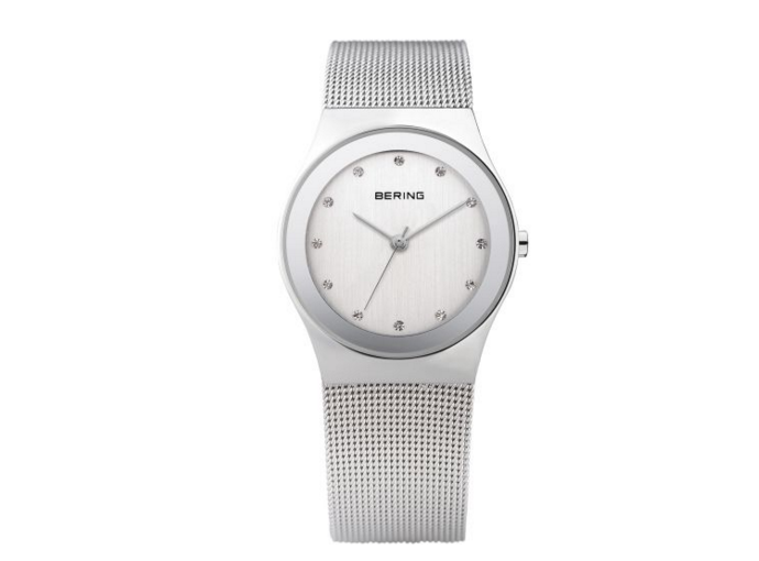 Silver Milanese Watch
