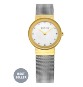 Women's Gold Stainless Steel Watch