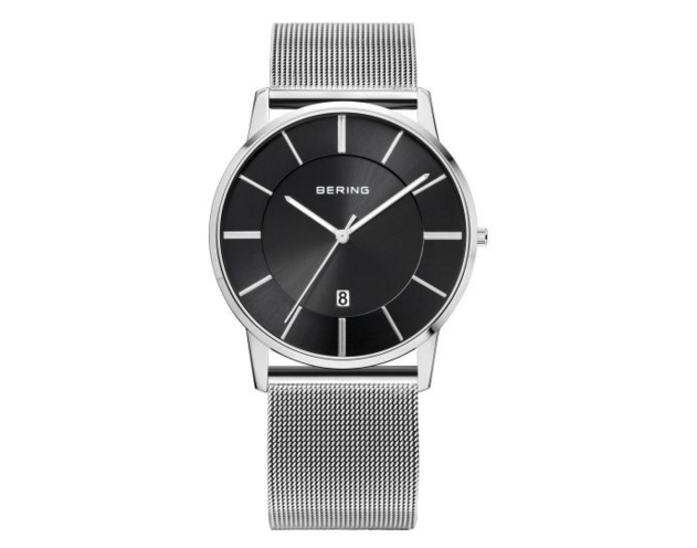 Bering Milanese Silver Watch
