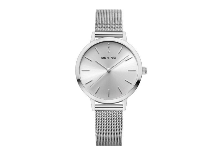 Milanese Silver Watch