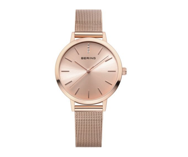 Milanese Rose Gold Watch