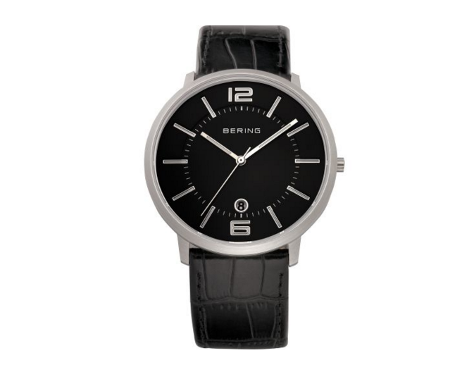 Calfskin Black Watch