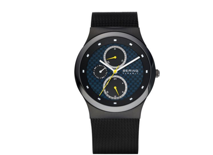 Ceramic Milanese Black Watch