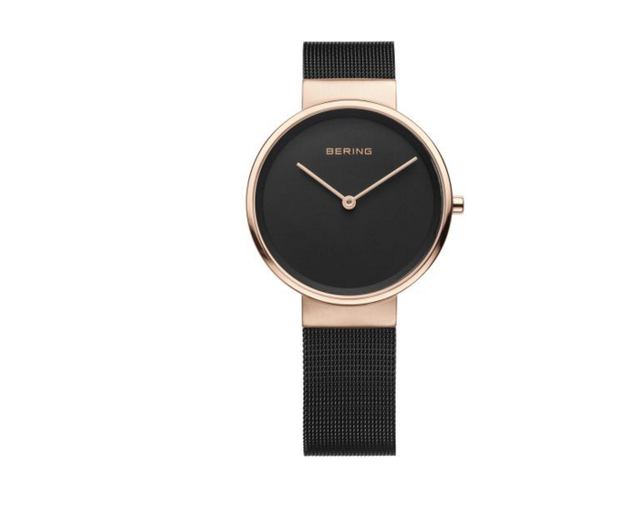 Milanese Black Women's Watch