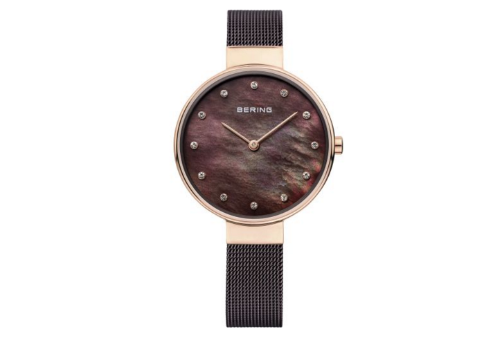 Women's Classic Milanese Brown Watch