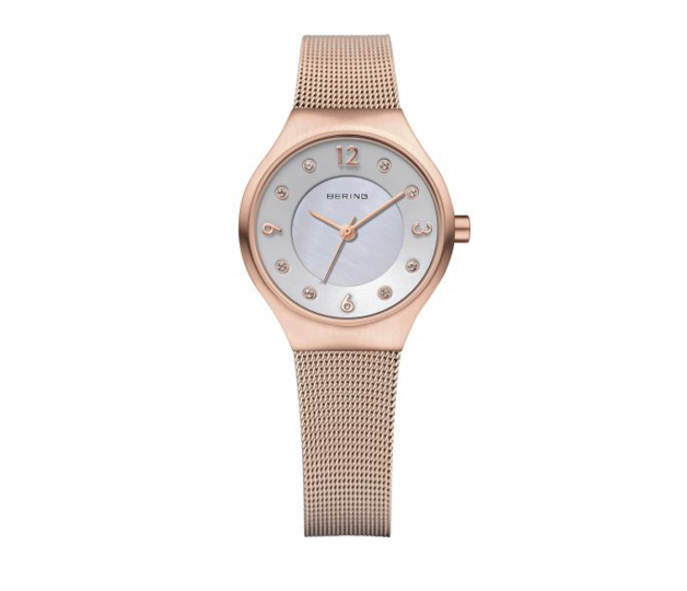 Women's Milanese Rose Gold Watch