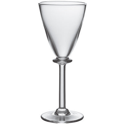 Simon Pearce Cavendish White Wine Glass with Stem