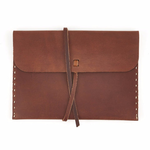 Stowaway Leather Pouch