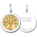 LOLA Designs Gold Tree Of Life in Sterling Silver