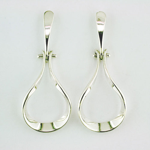 Sterling Silver Door Knocker Earrings - Silverscape Designs
