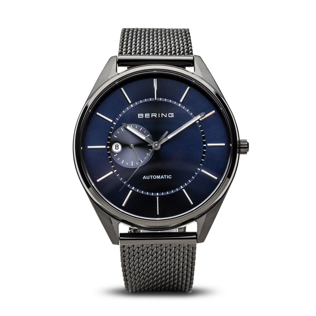 Brushed Black Automatic Watch