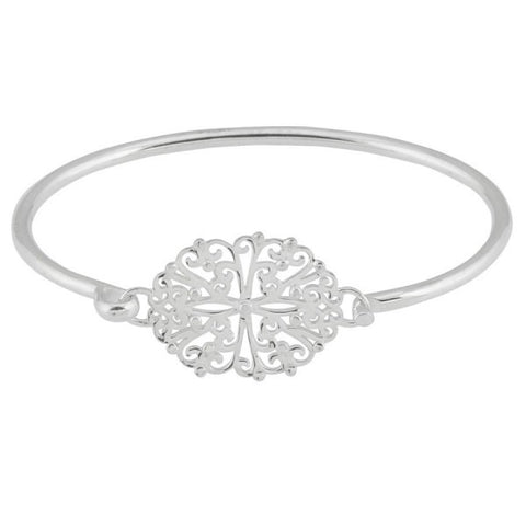 Southern Gates Oval Filigree Flip Top Bracelet