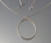 Sterling Silver Large bone Necklace - Silverscape Designs