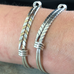 Herringbone Signature Bracelet - Silverscape Designs