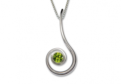 Dancing Clef Necklace Ed Levin