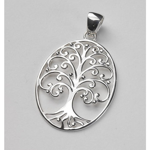 Southern Gates Large Oval Oak Tree Pendant