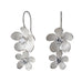 Sterling Silver Blue Topaz Double Apple Blossom Earrings - Silverscape Designs