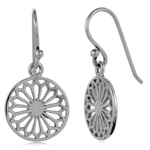Southern Gates Small Cathedral Scroll Earrings