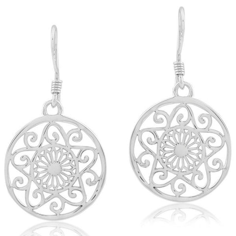Southern Gates Cathedral Scroll Earrings - Silverscape Designs