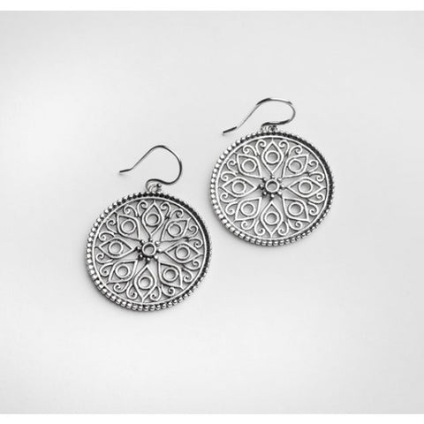 Southern Gates Art Deco Earring - Silverscape Designs