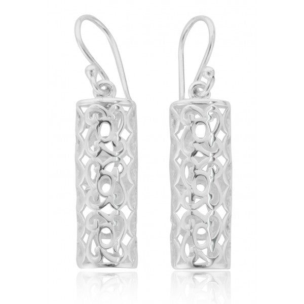 Southern Gates Half Cylinder Earring - Silverscape Designs