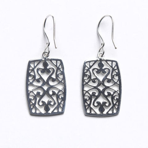 Southern Gates Classic Filigree Earrings - Silverscape Designs