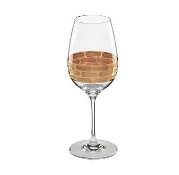 Truro Gold White Wine Glass