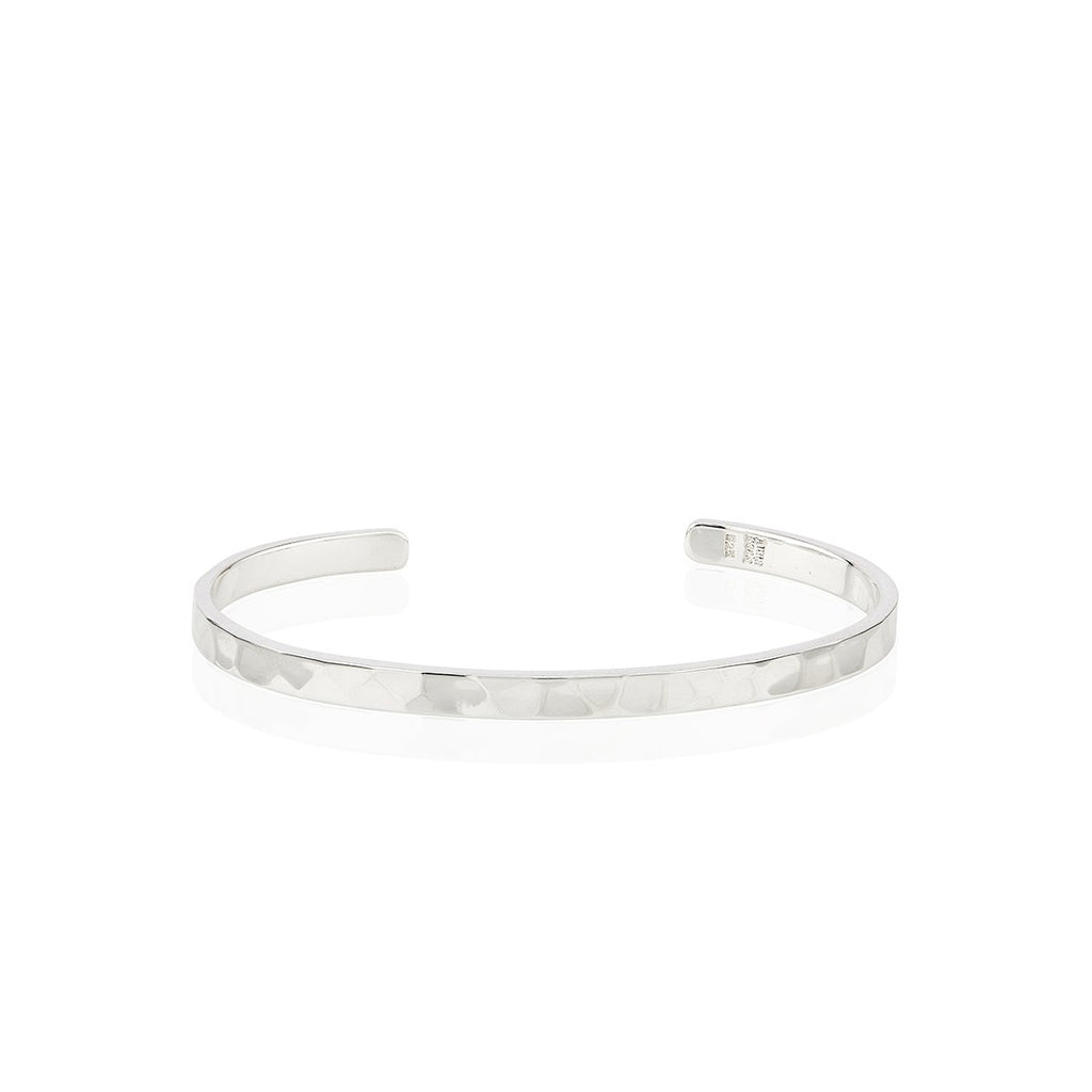 Anna Beck Hammered Stacking Silver Cuff