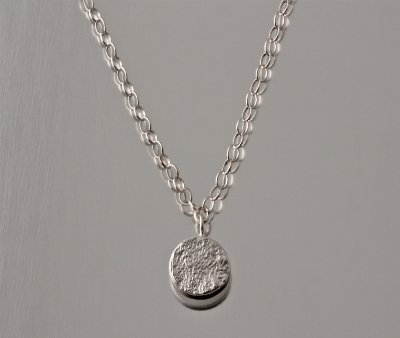 Sterling Silver Identity Necklace