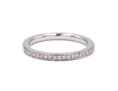 Naomi Wedding Band (21 Diamonds)