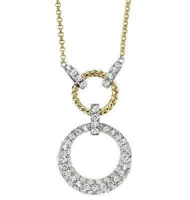 Ashley Boutique Collection Diamond Pendant