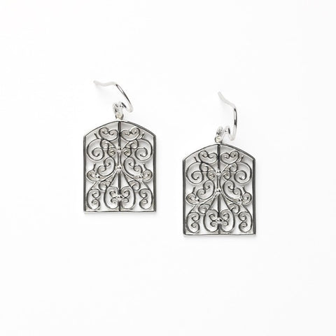 Southern Gates Terrace Filigree Earring - Silverscape Designs