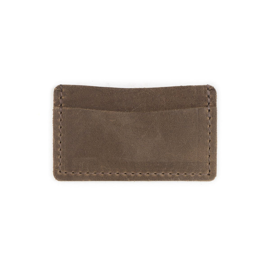 Single Track Leather Wallet - Silverscape Designs