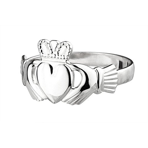 Sterling Silver Irish Claddagh Ring - Silverscape Designs
