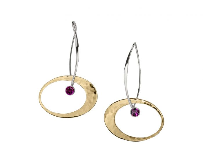 Large Elliptical Elegance Earrings