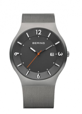 Men's Solar Grey Watch - Silverscape Designs