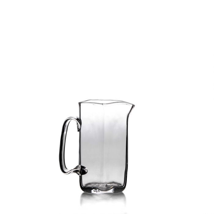 Woodbury Glass Pitcher, Medium - Silverscape Designs