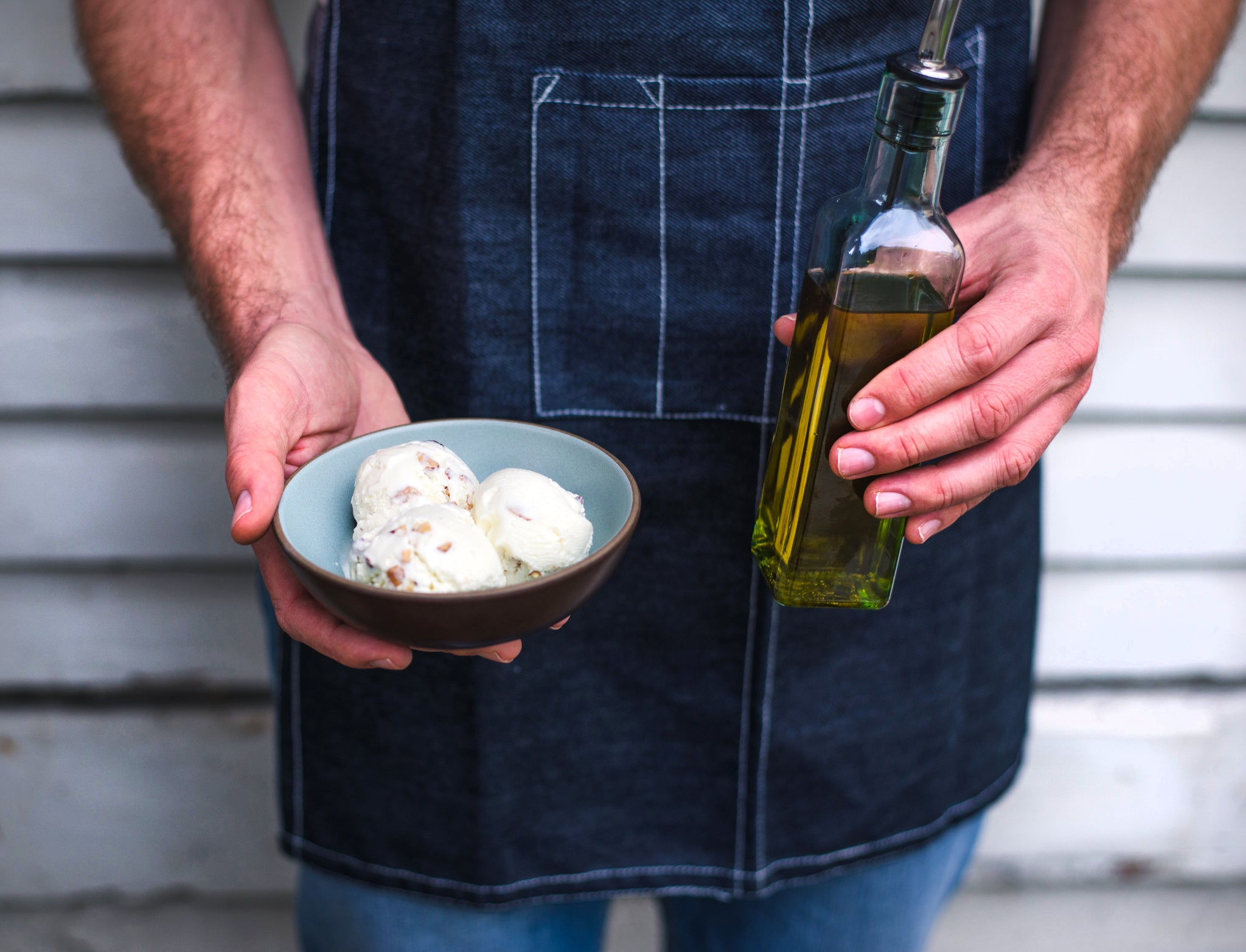A Ricchiuti Family Farms + McConnell's Collab: Olive Oil & Salted Almonds