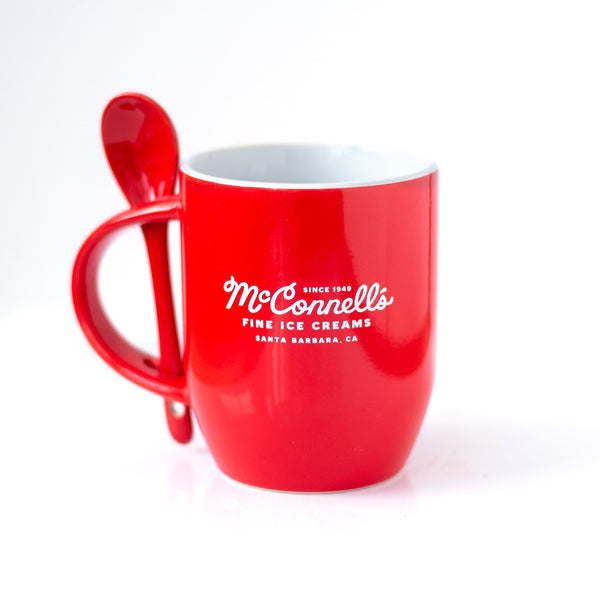 McC's Ceramic Mug w/ Spoon