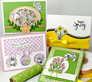 Wonderful New Monthly Card Kit available now as long as supplies last.