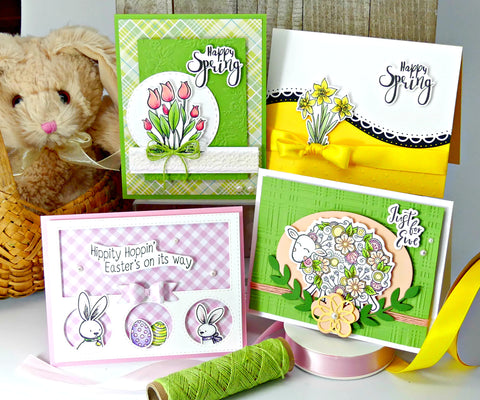 2019 March Stamp and Crop Monthly Card Kit-One Time Purchase