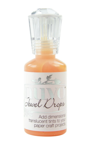 NUVO Jewel Drops:  642NJ Orange Marmalade